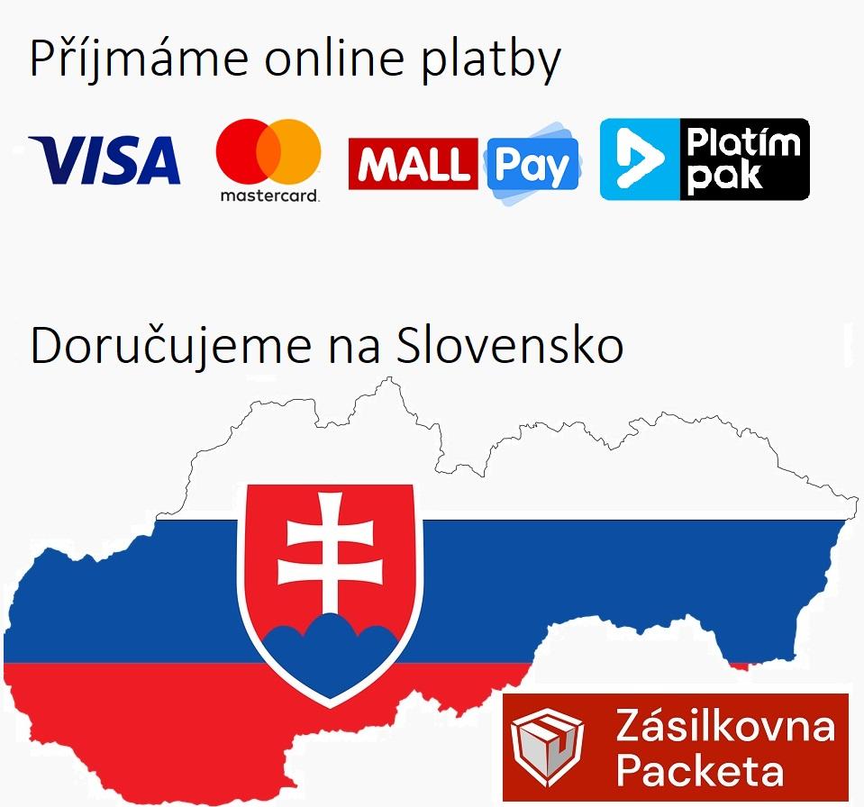 Doručujeme na Slovensko