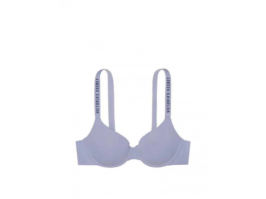 Dámská podprsenka Victoria's Secret logo světle fialová