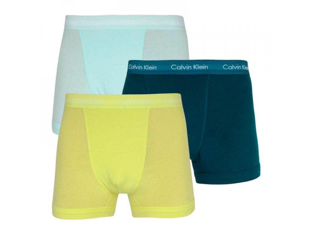 Panské boxerky Calvin Klein LOW TRUNK 3Pack