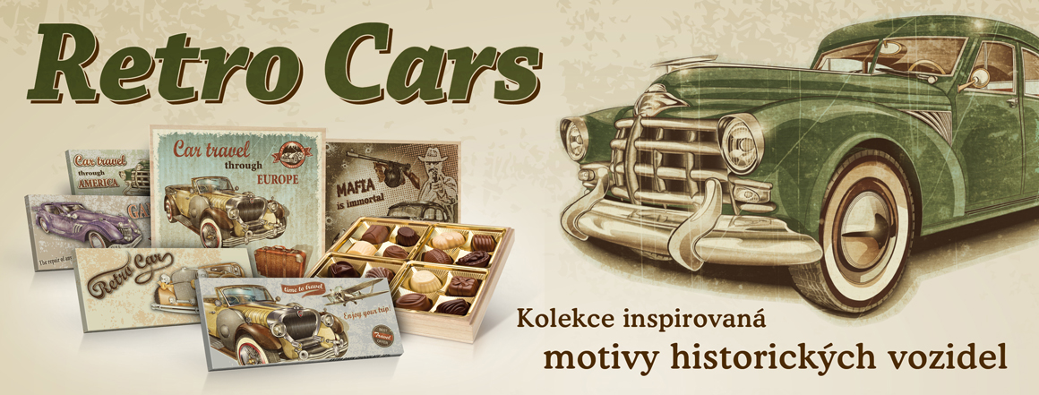 Kolekce čokolád a bonbonier s plněnými belgickými pralinkami v luxusních dřevěných dózách.