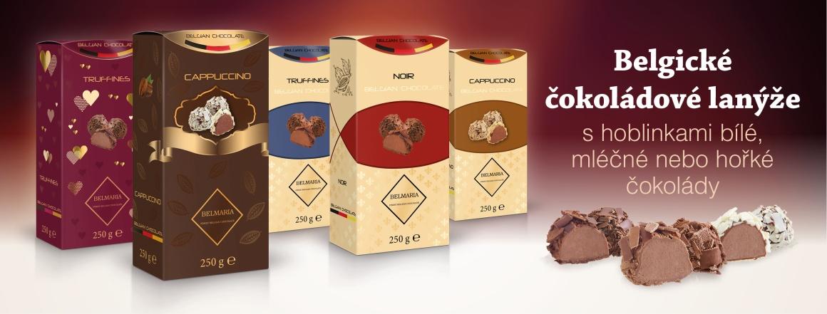 Výborné čokoládové lanýže s hoblinkami bílé, mléčné nebo hořké čokolády