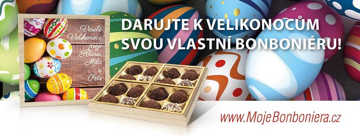 Vytvoř si vlastní velikonoční bonboniéru!