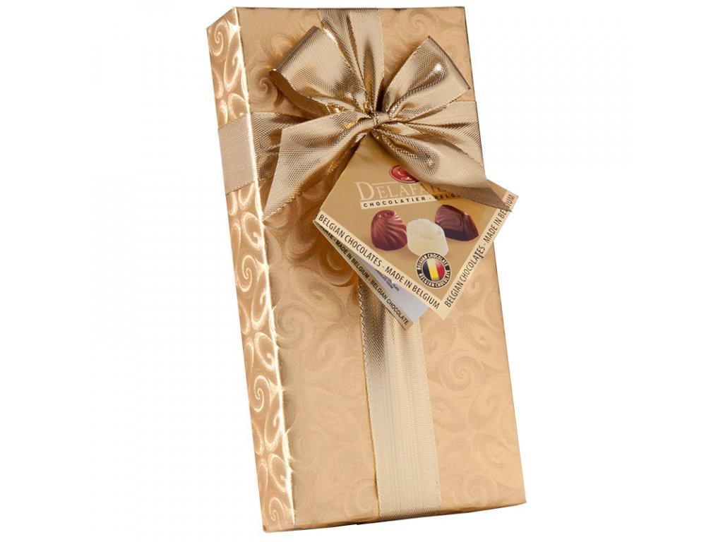 Belgické plněné čokoládové pralinky ve 100g
