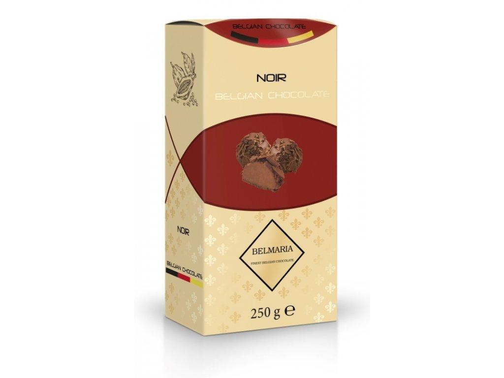 Belmaria lanýže mléčné s hoblinkami z hořké čokolády  250g