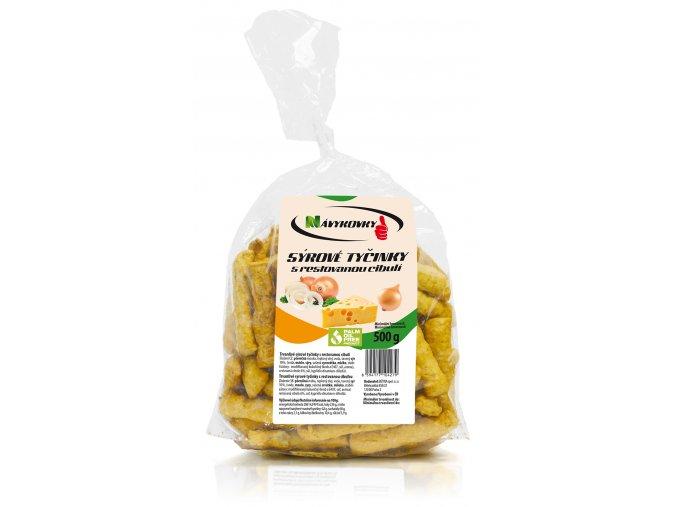 Návykovky sýrové s cibulí 500g M