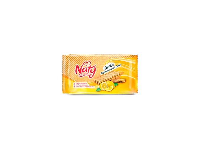 naty wafers pack lemon 160g 2016 flat