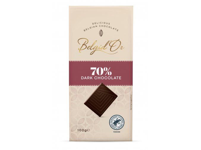 BDO Tablet 100gr Dark Chocolate 70%