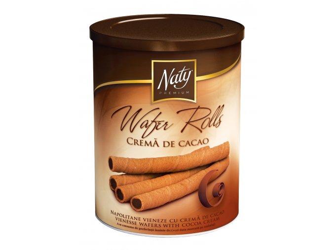 NATY PREMIUM Napolitane vieneze cu crema de cacao 100g si 200g