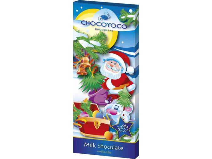 5243 Vánoční mléčná čokoláda 175g