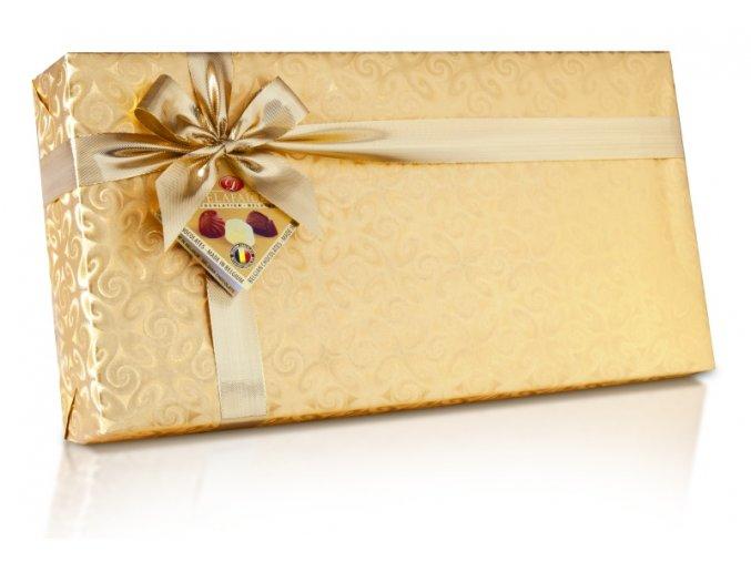 Plněné pralinky ve zlatém papíru 800g