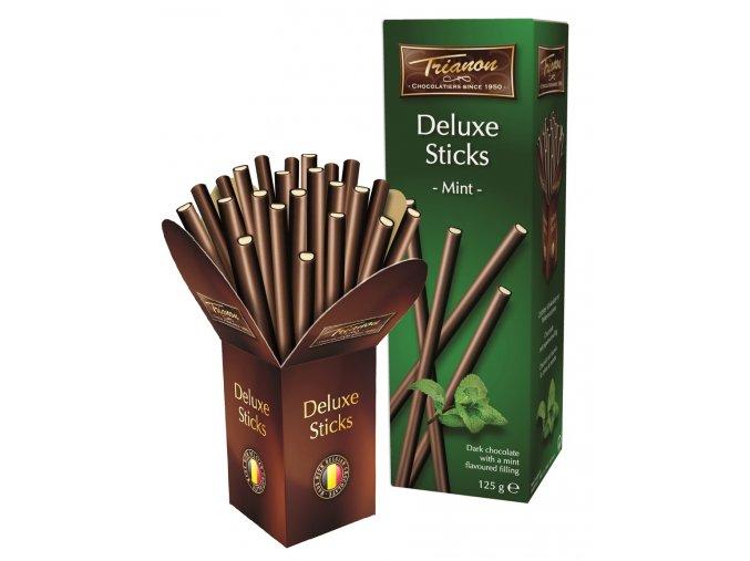 DU118 Rechts met bakje Trianon Deluxe Sticks 125g Mint