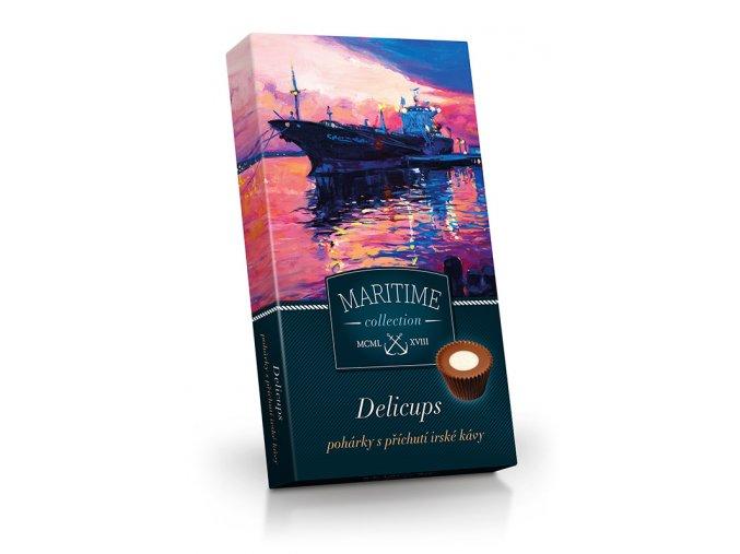 Delicups Maritime - pohárky s příchutí - Irská káva 125g