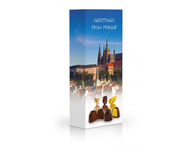Čokoládové plněné pralinky - Praha 90g