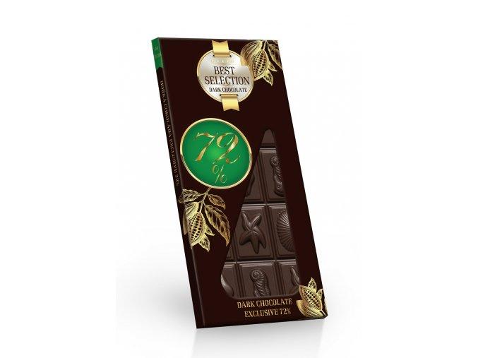 Taitau - Hořká čokoláda 72% Exclusive Selection 100 g