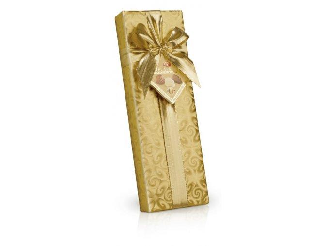 Belgické plněné pralinky ve zlatém papíru 150g long
