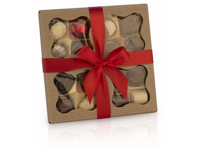 Belgické čokoládové plněné pralinky  200g