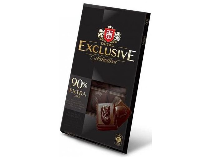 Taitau - Hořká čokoláda 90% Exclusive Selection 100 g