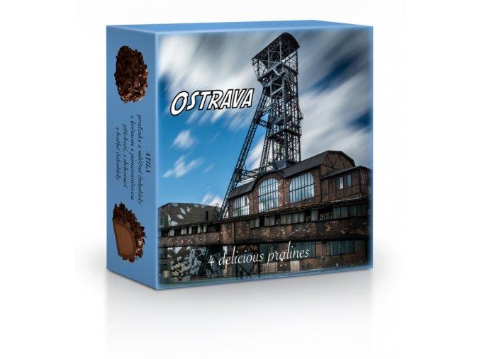 Ostrava - Plněné belgické pralinky Curlettes 50g