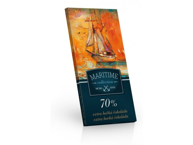 Maritime - Extra hořká čokoláda 70% 100g