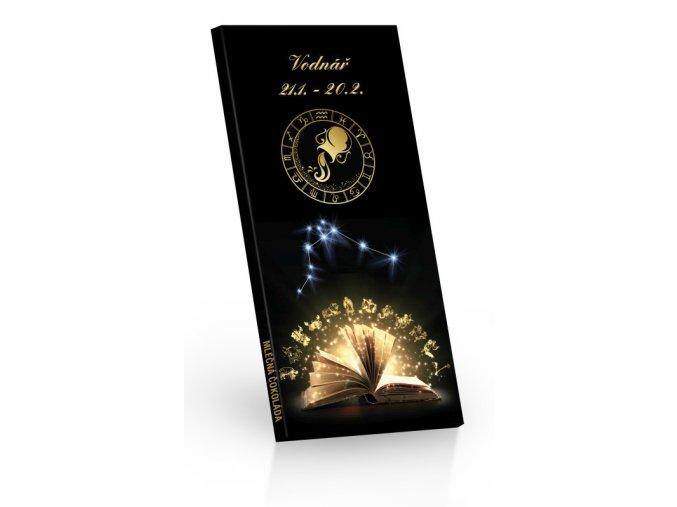 Čokoláda mléčná Zvěrokruh VODNÁŘ 100g