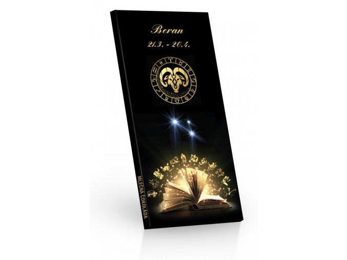 Čokoláda mléčná Zvěrokruh BERAN 100g