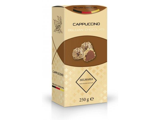 Bemaria lanýže mléčné Cappuccino s hoblinkami z bílé čokolády 250g