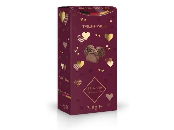 Belmaria lanýže mléčné Classic s hoblinkami z mléčné čokolády   250g