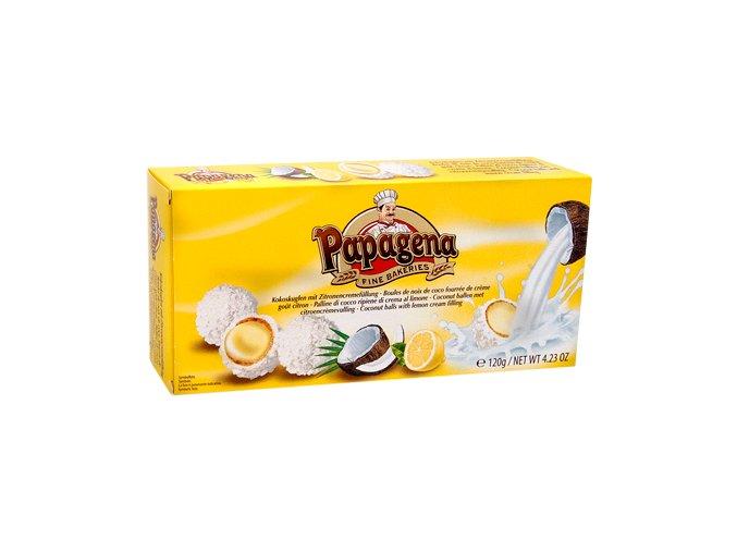 Papagena - Waflové kuličky s citronovo-krémovou náplní a kokos. vločkami 120g