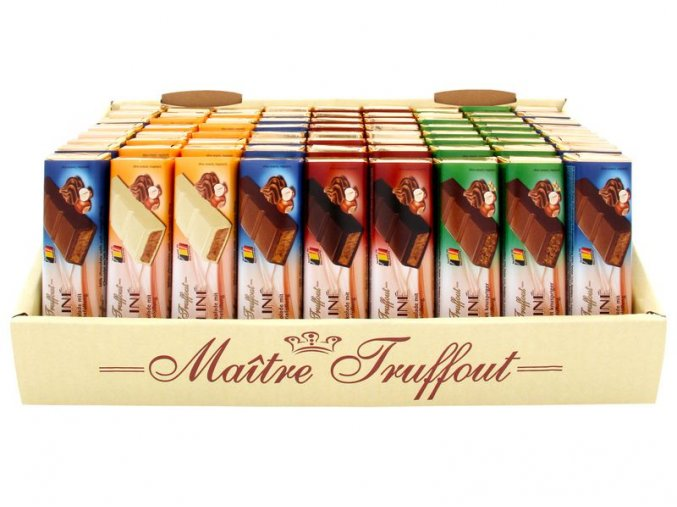 Displej - čokolády 72 ks x 75 g