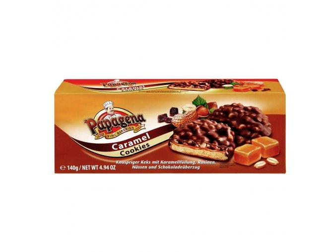 Papagena - sušenky s karamelovou náplní 140g