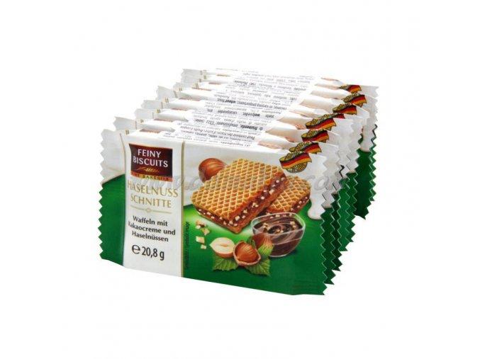 Oplatky s kakaovým krémem a lískovými oříšky 8x20,8 g