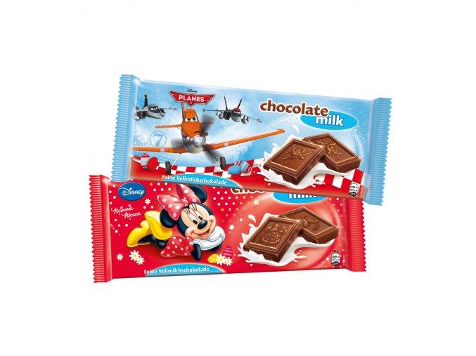 Čokoláda 100g - mléčná DISNEY