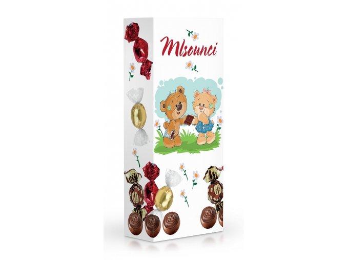 Čokoládové plněné pralinky - Mlsounci 84g