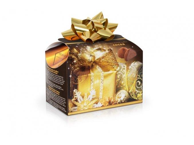 Belgické lanýže s čokoládovou náplní Vánoce 250 g