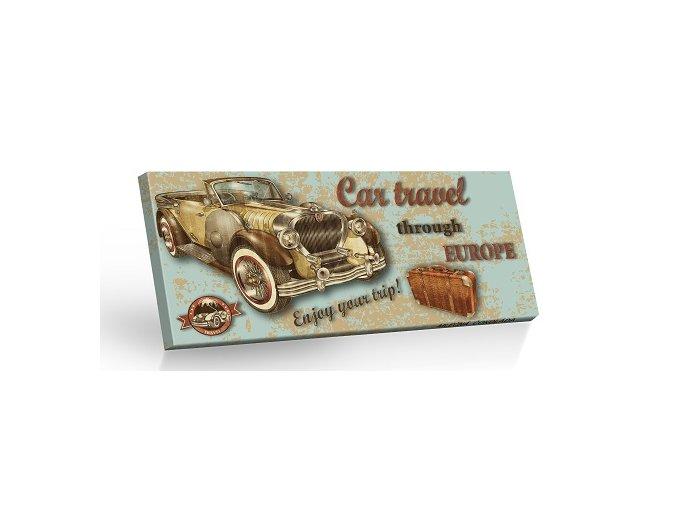 Retro Choco Cars Europe - mléčná čokoláda 100g