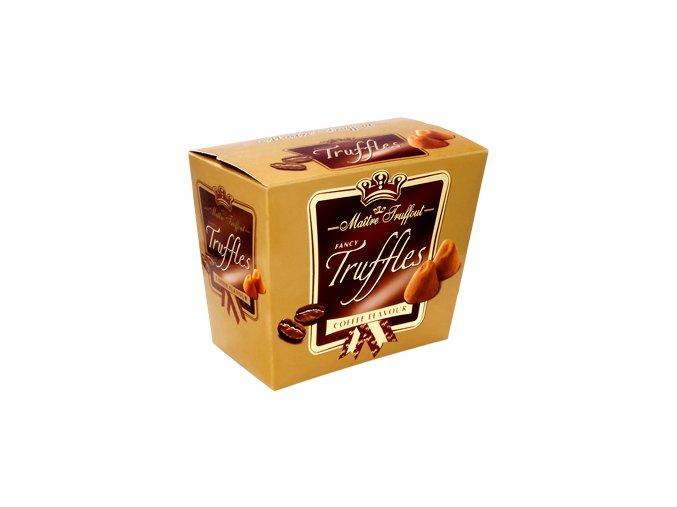 Maitre Truffout - Čokoládové lanýže s příchutí kávy 200g