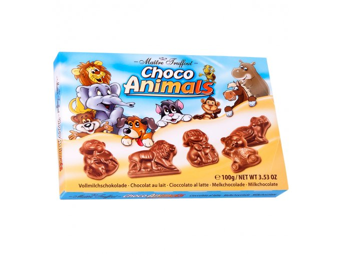 Mléčná čokoláda zvířátka Choco Animal 100 g