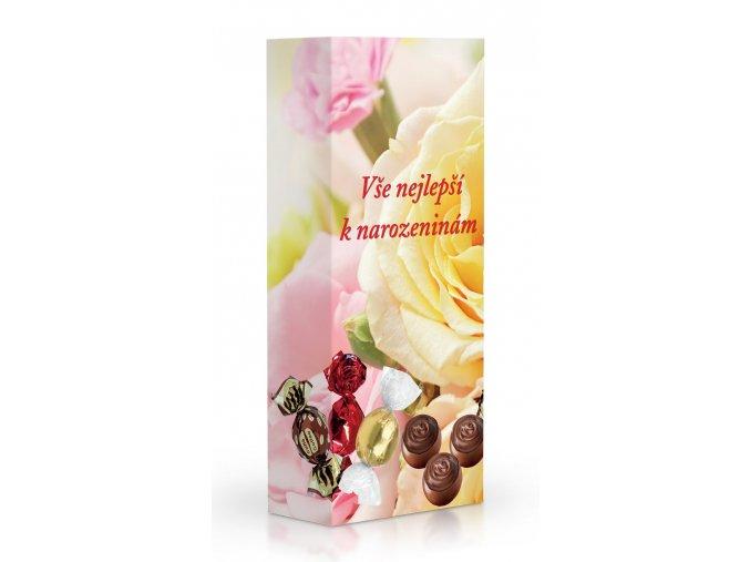 Čokoládové plněné pralinky - K narozeninám 84 g