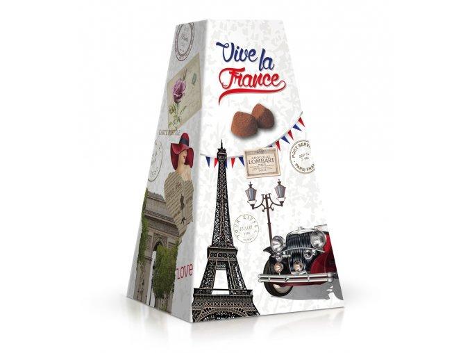 France - kakaové lanýže v příchutí lískových ořechů 200 g