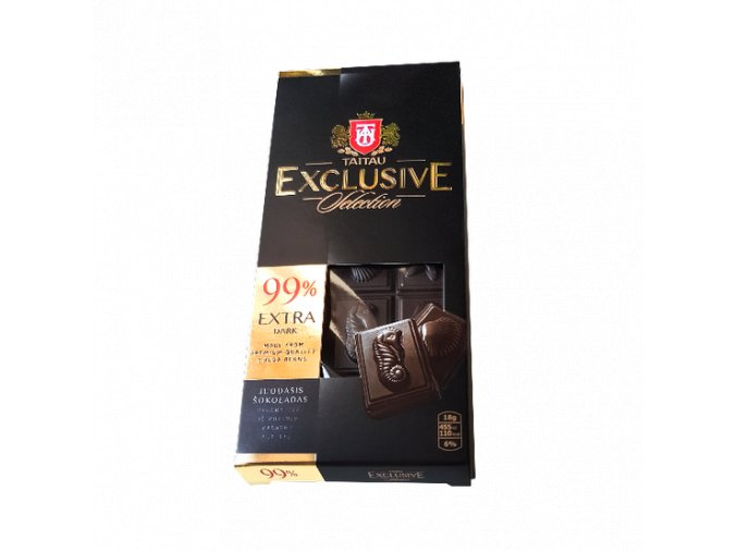 Taitau - Hořká čokoláda 99% Exclusive Selection 90 g