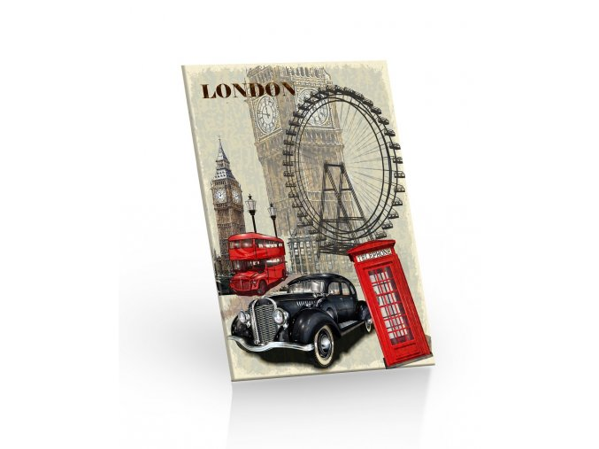cok 20g LONDON 3D leva