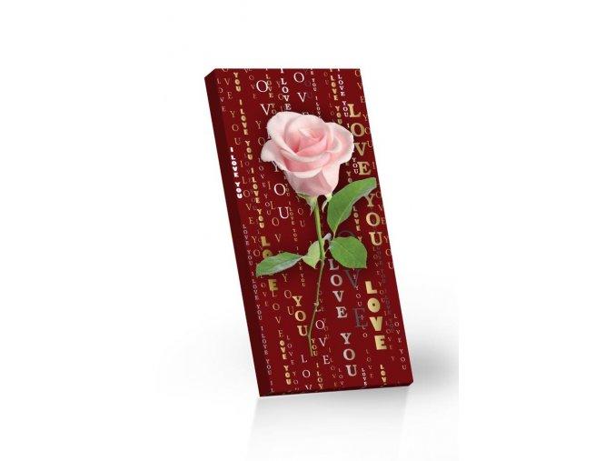 růžová růže 100g