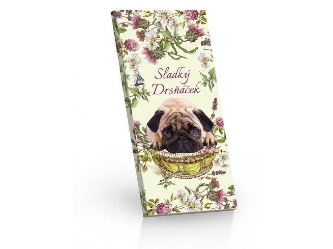 Sladký drsňáček - čokoláda hořká 60%  100g