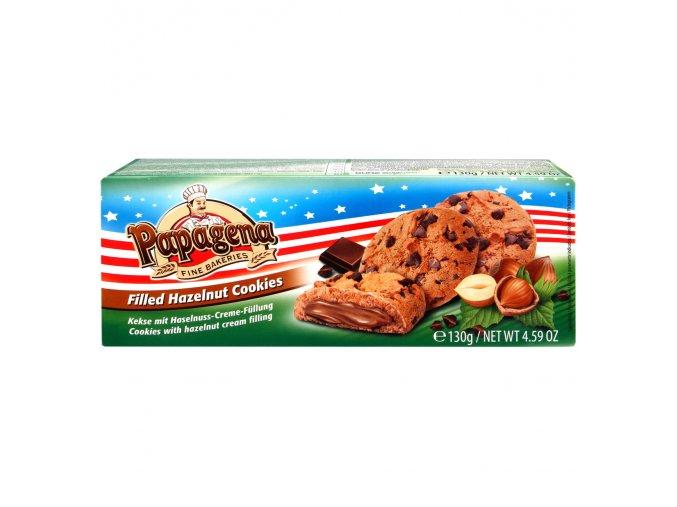 SLEVA Cookies s oříškovým krémem 130g, min. spotř. 3.6.2020