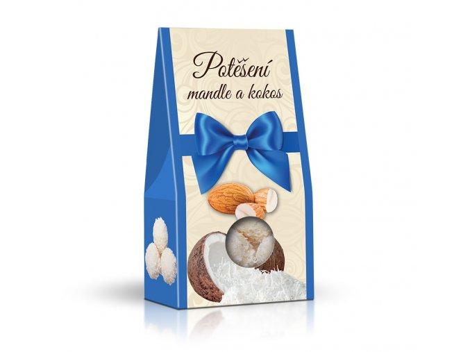 Kuličky s kokosovým krémem a mandlemi 95g (stříška)
