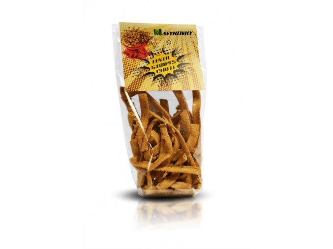 SLEVA Návykovky - Čočkové chipsy s chilli 70g, min. trvanl. 10/2020