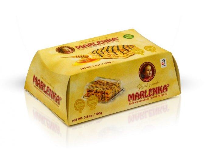 Marlenka dortík medový 100g M