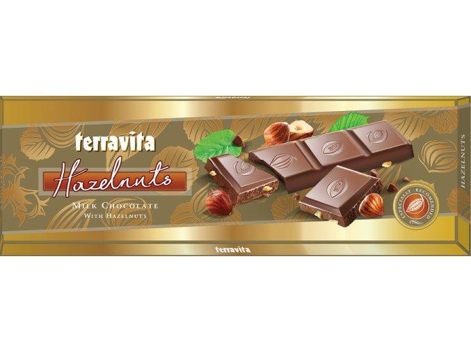 CZ EX 020 225g Terravita Milk Chocolate With Hazelnuts