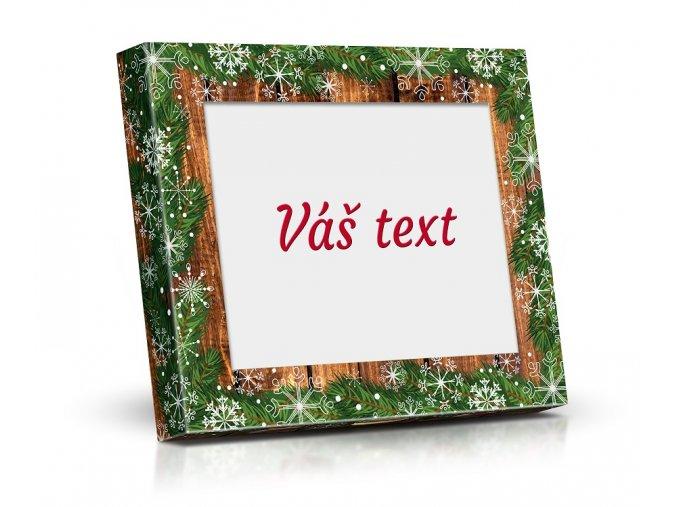 Lodičky VV20 obdélník 125g vas text M