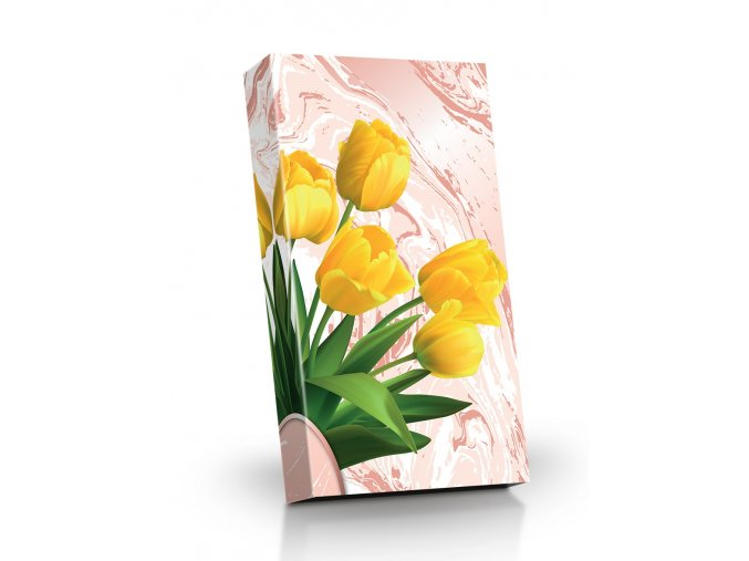 ledove poharky Zlute tulipany 125g